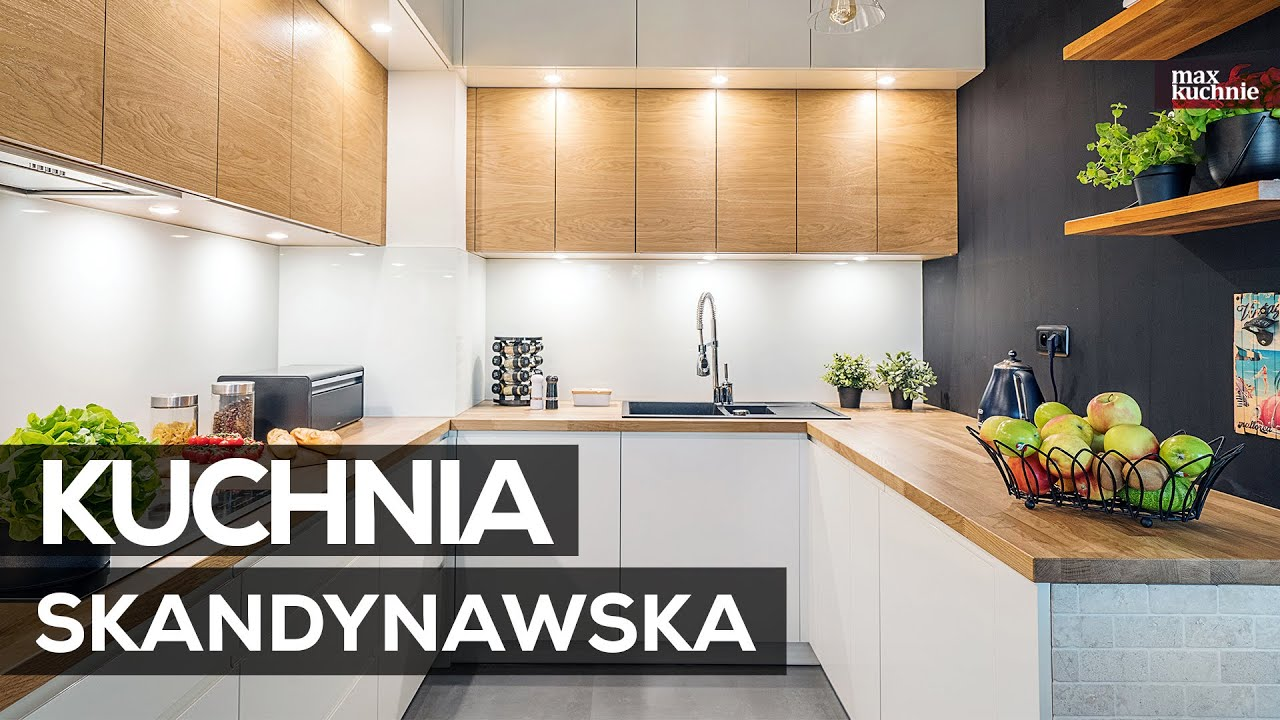 Kuchnia Skandynawska Max Kuchnie Studio Meble Wach Warszawa