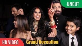 Kamya Panjabi And Shalabh Dang's Grand Wedding Reception   COMPLETE VIDEO   Star-Studded Reception