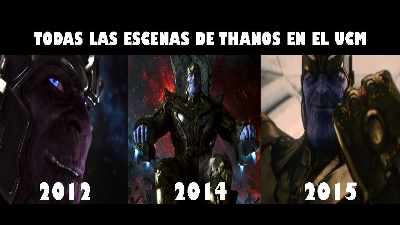 Todas Las Escenas De Thanos En El Ucm Español Latino
