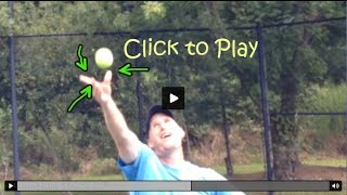 Topspin Tennis Serve Part IV - Drills For The Next Level