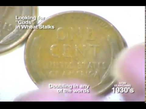 The Coin Show: Episode 17 - Wheat Cent Error Coin Hunt 1930-1940