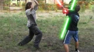 Pogo Wars - Lightsaber duel - Pojedynek na miecze świetlne