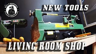 Living Room Workshop and New Power Tools
