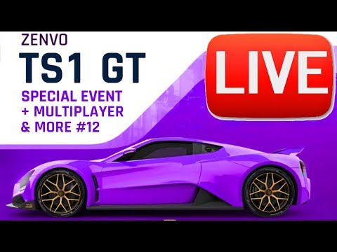 LIVE Asphalt 9 #12: ZENVO TS1 SPECIAL EVENT & MULTIPLAYER!