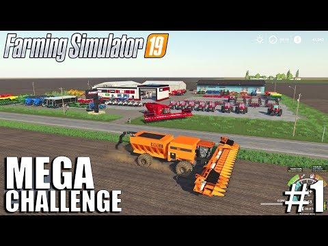 MEGA Equipment Challenge 2.0 | Timelapse #1 | Farming Simulator 19