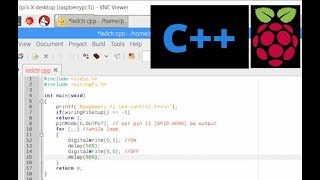 Raspberry Pi Control GPIO by C C++