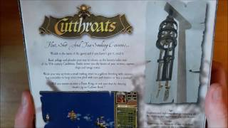 Cutthroats: Terror on the High Seas (PC Big box) Unboxing