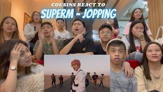 COUSINS REACT TO SuperM 슈퍼엠 'Jopping' MV