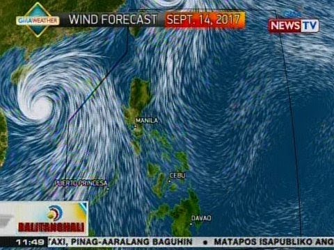 BT: Weather update as of 11:49 a.m. (Sept. 14, 2017)