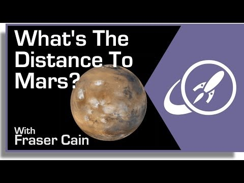 What Is The Distance To Mars?