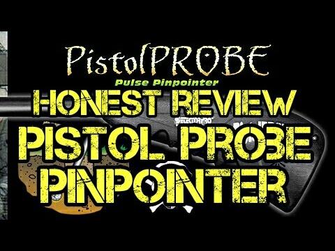 Detector Pro Pistol Probe Metal Detector Pinpointer Review