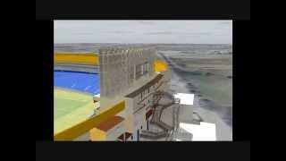 Grupo-ACCSISA. Construcción de Suites del Estadio Universitario