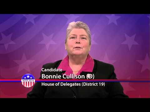 Bonnie Cullison (D), Candidate for Maryland House of Delegates  District 19