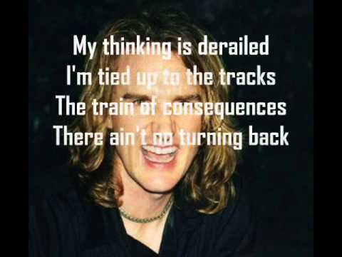 Megadeth train of consequences