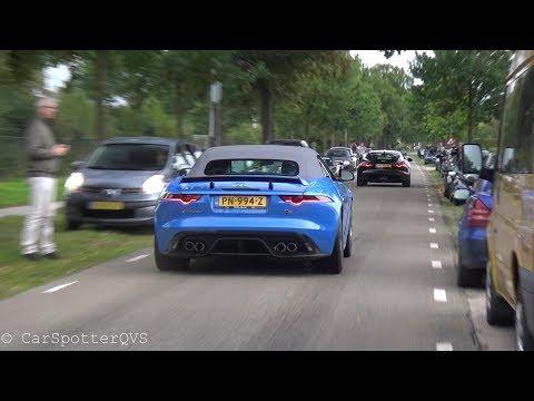 Jaguar F-Type V8 SVR - LOUD Revs, Accelerations and Crackles!
