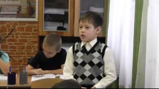 Інтелект України- урок математики. Кузнецовська ЗОШ №1, 1 клас, 2014