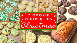 7 CHRISTMAS COOKIE RECIPES // Christmas Baking All Day // Cleaning Mom
