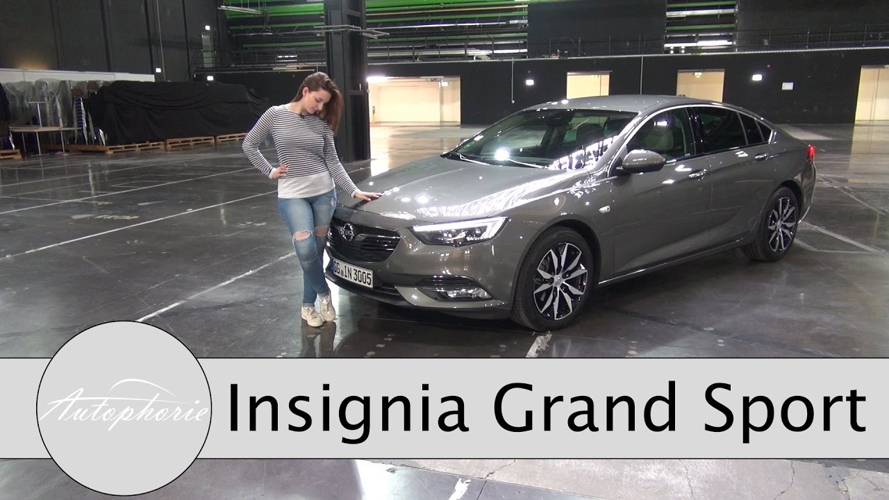 2017 opel insignia grand sport 1 5 turbo test angriff auf die mittelklasse autophorie youtube. Black Bedroom Furniture Sets. Home Design Ideas