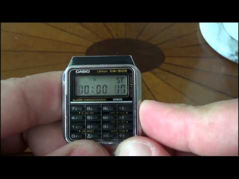 Casio CA 505 Module 437 Watch