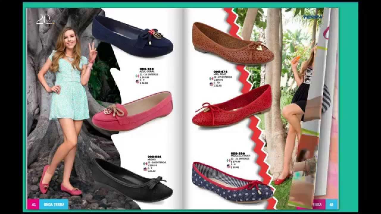 Nuevo catalogo mundo terra 2015 zapatos para damas onda for Catalogos terra