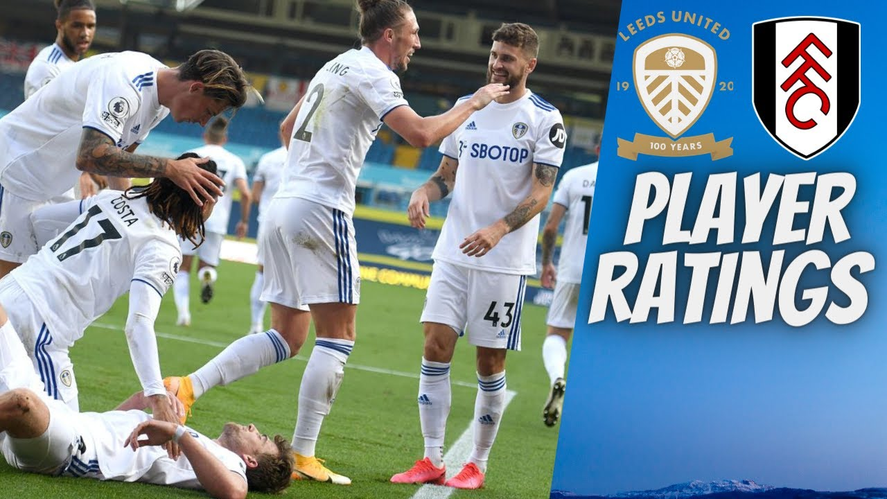 PLAYER RATINGS LIVE LEEDS VS FULHAM - YouTube