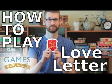 How to play Love Letter - Games Explained