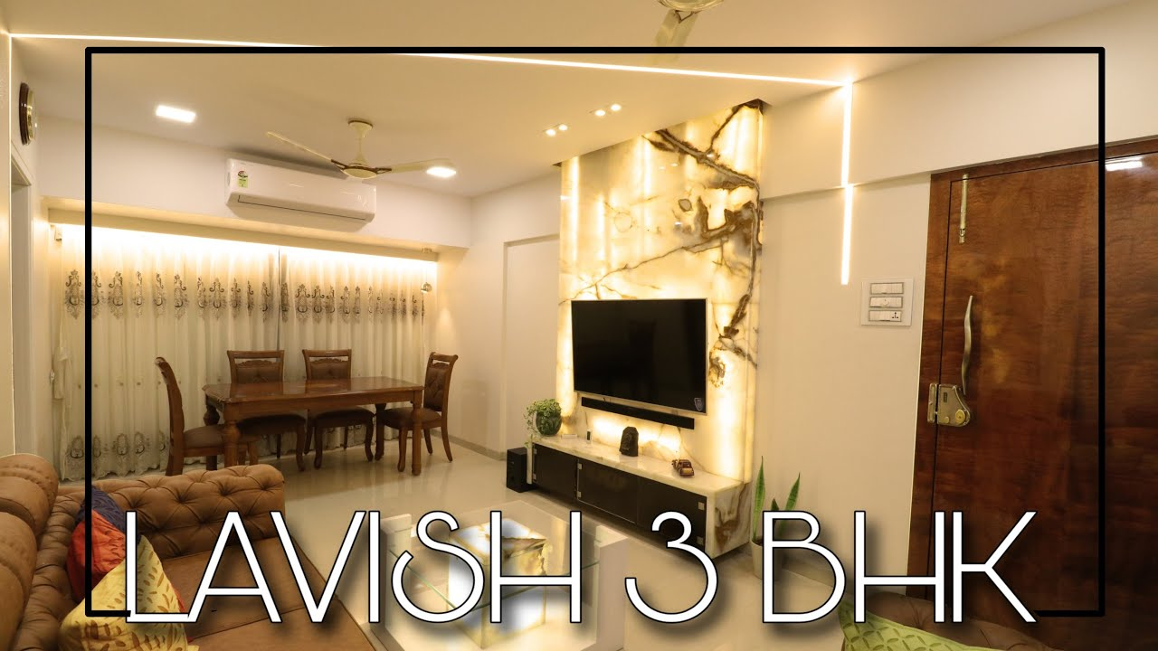 Interior Design 3 Bhk Flat Latest Design Ideas Youtube