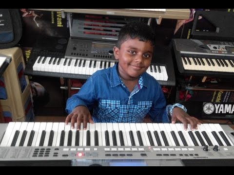 pilla nuvvu leni jeevitam from gabbar singh 1on keyboard by varunesh