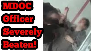 Mississippi Correctional Officer Brutally Beaten! (Warning: Graphic Footage)