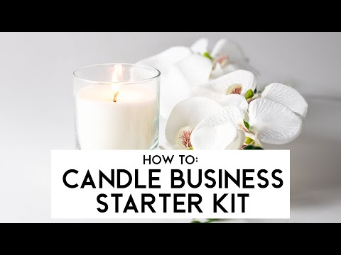 Candle Business Starter Kit - Video Guide | Supplies For Candles