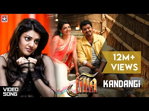 Jilla Movie Songs - Kandaangi Kandaangi song - Mohanlal, Kajal, Vijay Travel Video