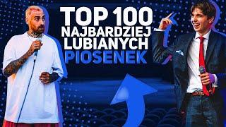 TOP 100 najbardziej LUBIANYCH PIOSENEK - POLSKI RAP/TRAP