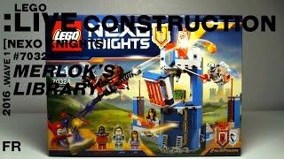 lego live construction nexo knights merlok s library 2 0 franais