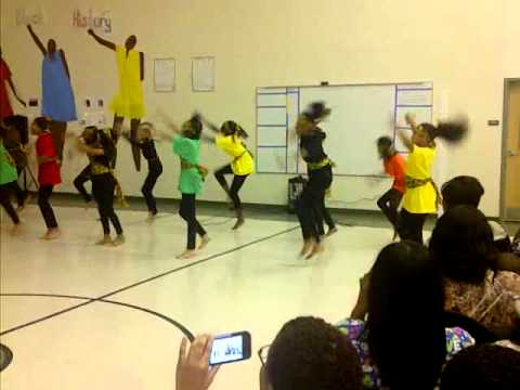 The Blazerette Dancers at Atlanta Heights Charter School!