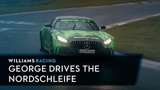 George Russell Drives The Most Fearsome Circuit In The World: The Nordschleife