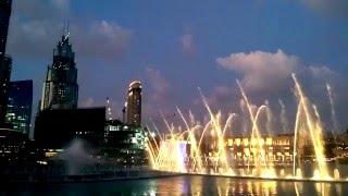 Dubai Fountain Show 2016 Burj Khalifa