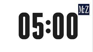 5 minute countdown timer conto alla rovescia 5 minuti