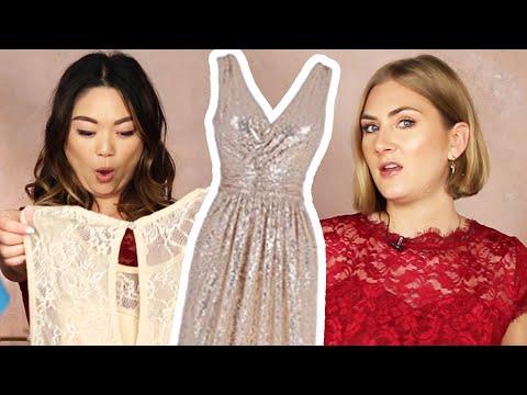 Women Try Amazon Bridesmaid Dresses