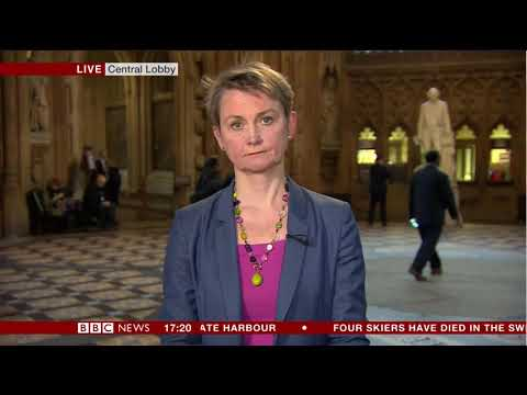 Yvette Cooper responds to House of Lords vote