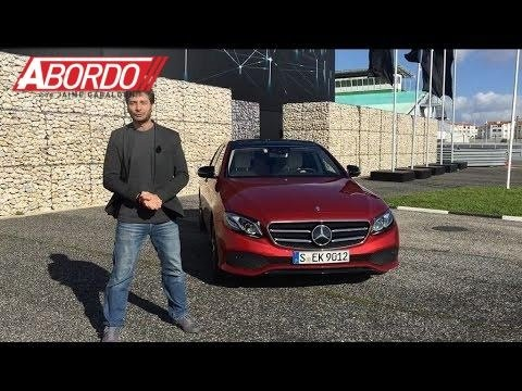 Mercedes-Benz Clase-E 2017 - Prueba A Bordo [Full]