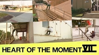 ◤MANSIONS ON THE MOON : HEART OF THE MOMENT (SKATEBOARDING MONTAGE) // viiordie.com