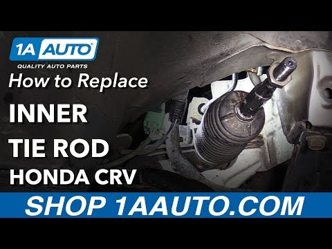 How to Replace Inner Tie Rods 07-11 Honda CRV