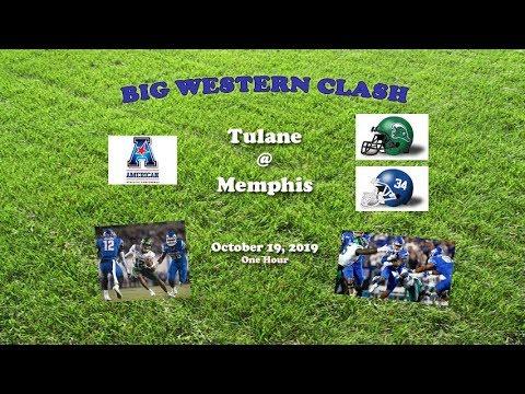 2019 Tulane @ Memphis One Hour