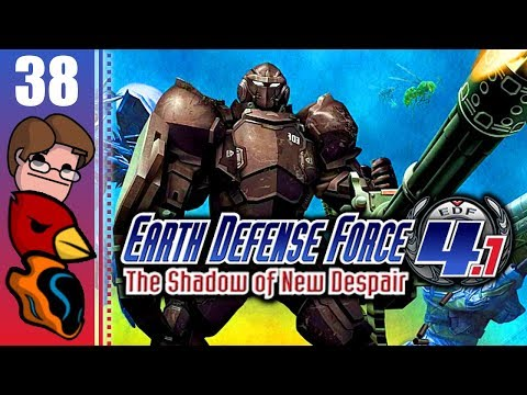 Let's Play Earth Defense Force 4.1: The Shadow of New Despair Co-op Part 38