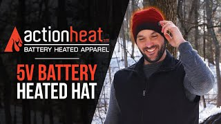 ActionHeat Rechargeable Battery Heated Beanie - TheWarmingStore
