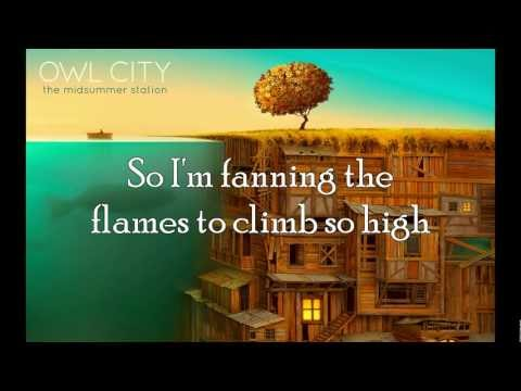 Owl City - Embers with Lyrics (HQ)