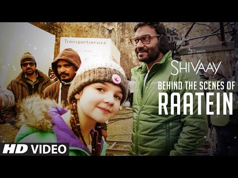 MAKING Of Raatein Song | Shivaay | Jasleen Royal | Ajay Devgn | T-Series