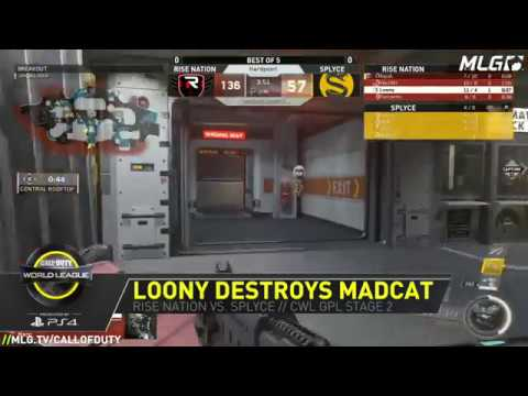 Loony destroys Madcat - CWL Global Pro League - Stage 2 - Group Yellow