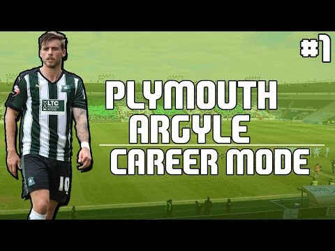 FIFA 17 Plymouth Argyle Career Mode - #1 - PRE-SEASON!