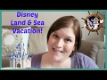DISNEY LAND & SEA TRIP INTRODUCTION | beingmommywithstyle